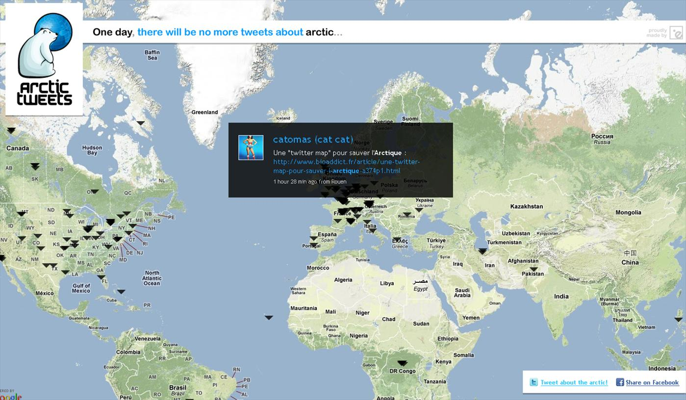 twiter_map_arctique