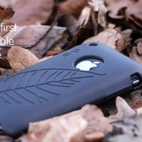 Un etui Iphone 100% biodegradable …