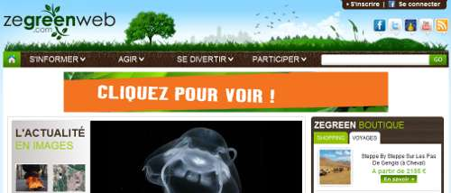 Un Interview sur Zegreenweb ...