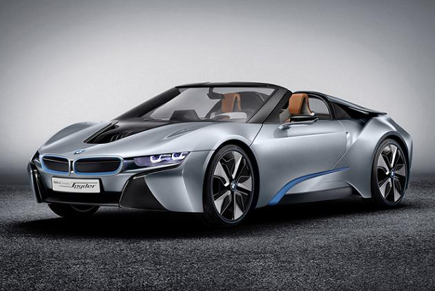 bmw i8 spyder le concept car hybride de bmw. Black Bedroom Furniture Sets. Home Design Ideas