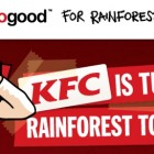 KFC no good, Greenpeace s'attaque au roi du poulet