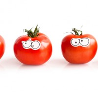 Edible eyes, la bande des tomates