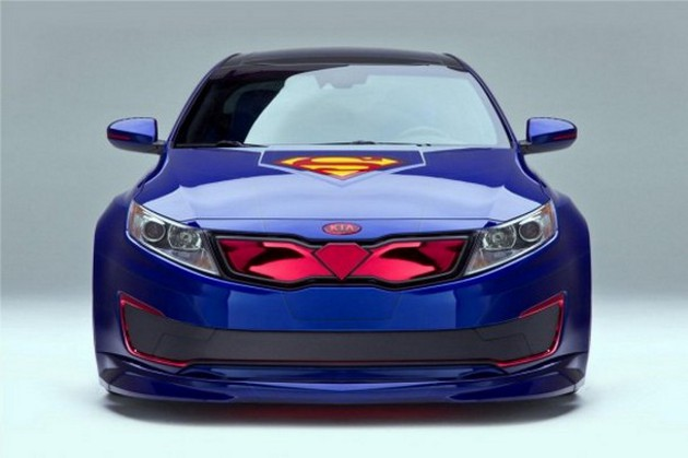 la voiture de Superman