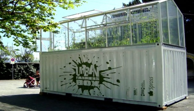 Container de culture aquaponique Zürich