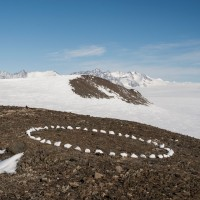 circleinantarctica Richard long