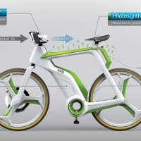 Air-Purifying Bike concept 2