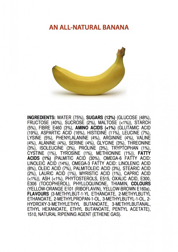 all-natural banana