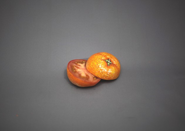 food painting mandarine 2