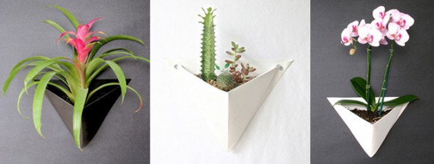 Origami Wall Planter 2