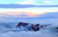 Innondation du Grand Canyon par des nuages