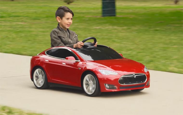 Tesla Model S for Kids
